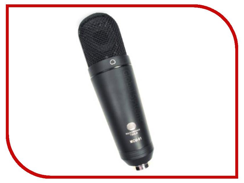 Микрофон Recording Tools MCU-01 USB Black atmega8a pu atmega8a dip 28 mcu avr 8k flash 16mhz chip black