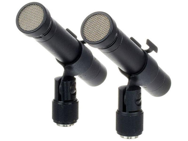 цены на Микрофон Октава МК-012-01 Стереопара Black  в интернет-магазинах