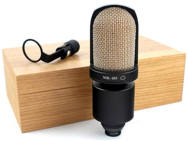 цены на Микрофон Октава МК-105 Black  в интернет-магазинах