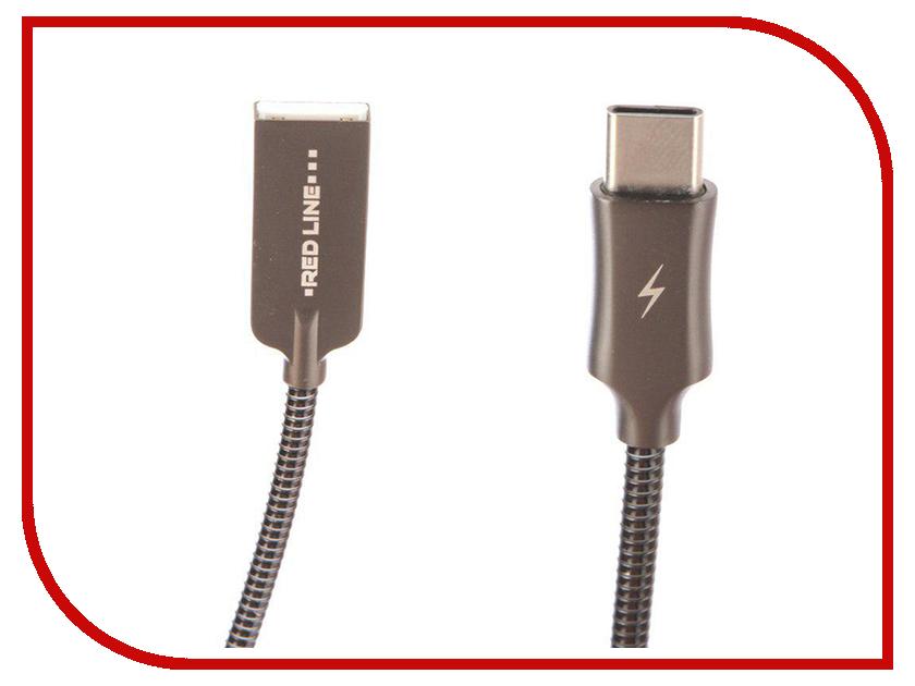Аксессуар Red Line Flex USB - Type-C Black УТ000015521
