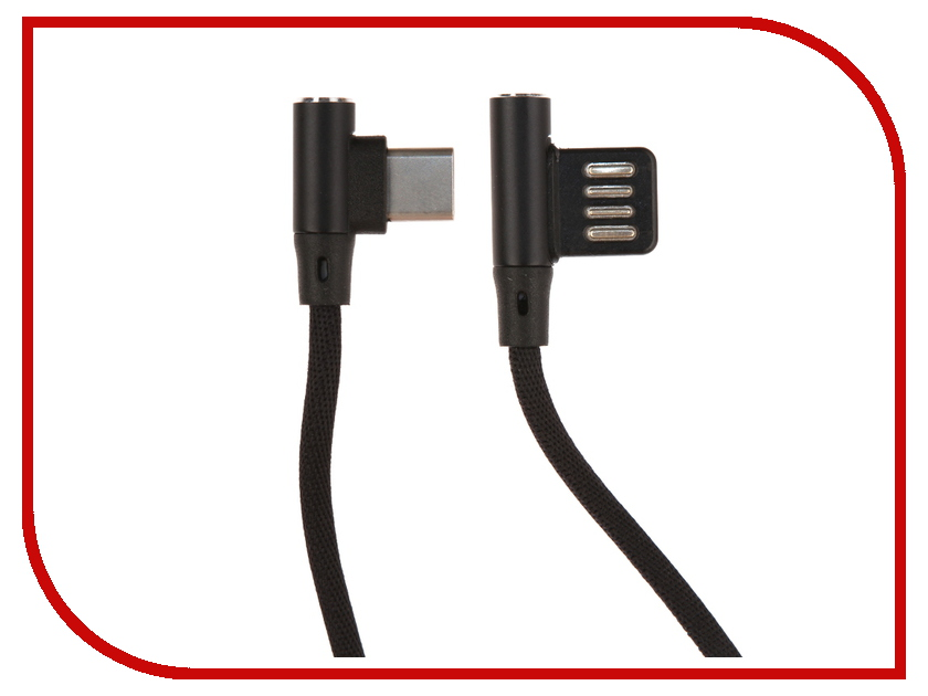 Аксессуар Red Line Fit USB - Type-C Black УТ000015524 самокат трехколёсный y scoo trio diamond 120 розовый