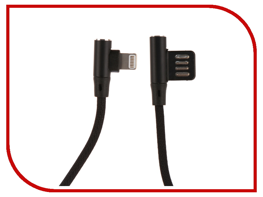 Аксессуар Red Line Fit USB - Lightning Black УТ000015522
