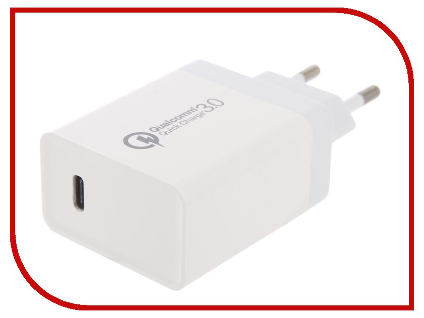 Зарядное устройство Red Line PD1-3A Tech Type-C 3A White УТ000015720