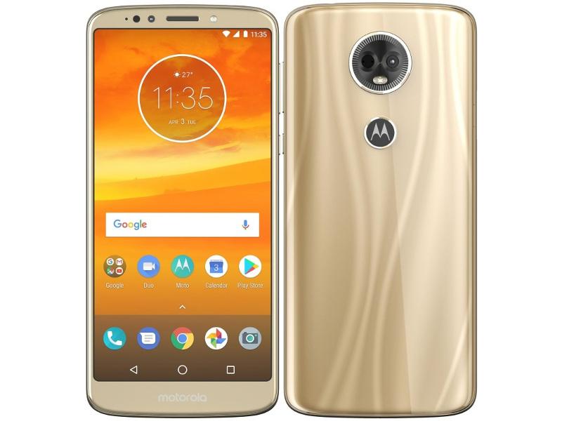 Сотовый телефон Motorola Moto E5 Plus 32GB Gold смартфон motorola moto e5 plus 32gb xt1924 1 gold