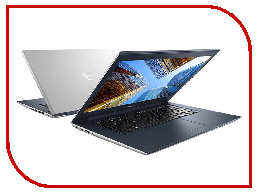 Ноутбук Dell Vostro 5471 Silver-Blue 5471-7406 (Intel Core i5-8250U 1.6 GHz/4096Mb/1000Gb/No ODD/Intel HD Graphics/Wi-Fi/Bluetooth/Cam/14.0/1920x1080/Windows 10 64-bit) цена