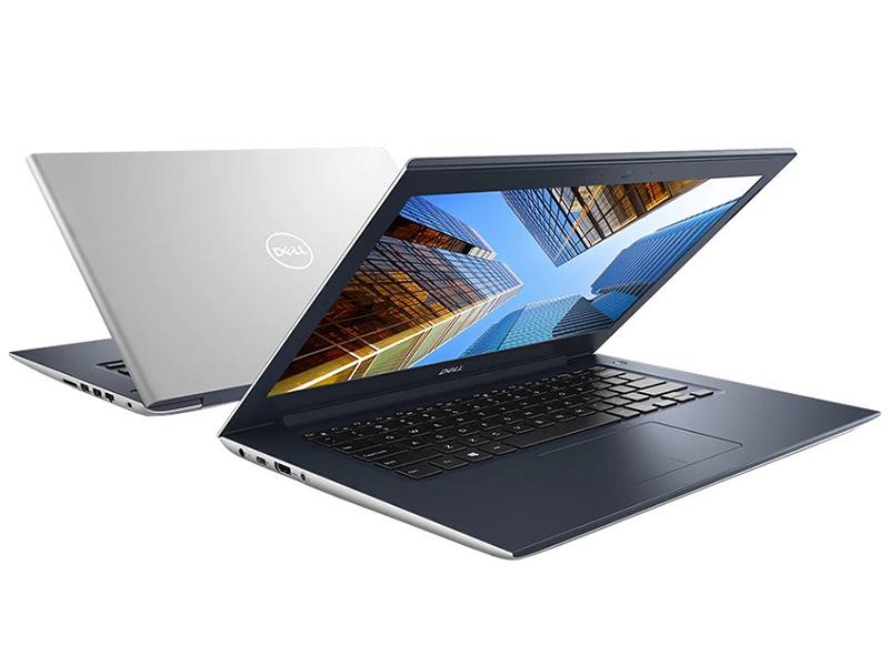 Ноутбук Dell Vostro 5471 Silver-Blue 5471-7406 (Intel Core i5-8250U 1.6 GHz/4096Mb/1000Gb/No ODD/Intel HD Graphics/Wi-Fi/Bluetooth/Cam/14.0/1920x1080/Windows 10 64-bit)