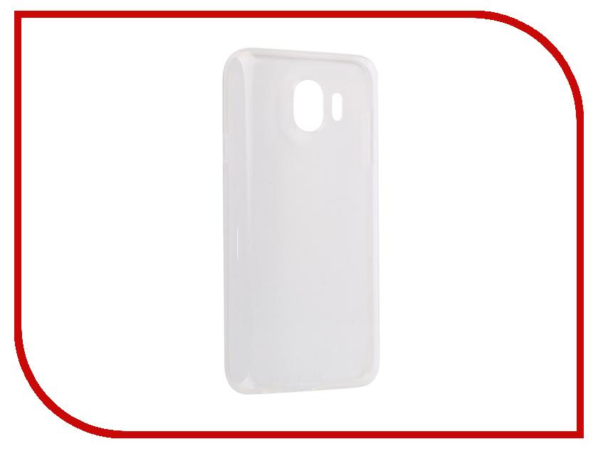 Аксессуар Чехол силиконовый Crystal для Samsung Galaxy J4 2018 iBox УТ000015601 аксессуар чехол microsoft lumia 550 ibox crystal transparent