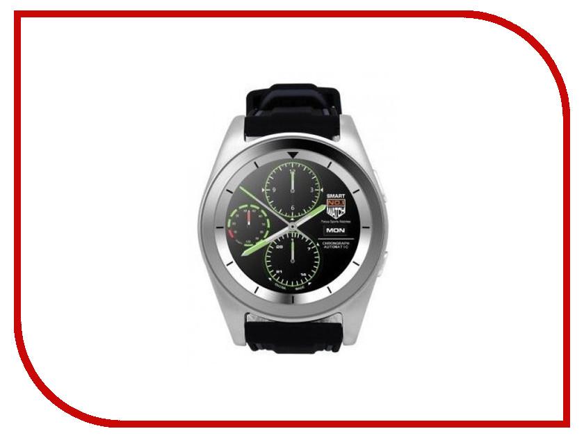 Умные часы CarCam G6 Silver Silicon