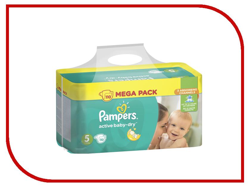 Подгузники Pampers Active Baby-Dry Junior 11-18кг 110шт 8001090459541 подгузники pampers active baby dry размер 4 7 14 кг 132 шт