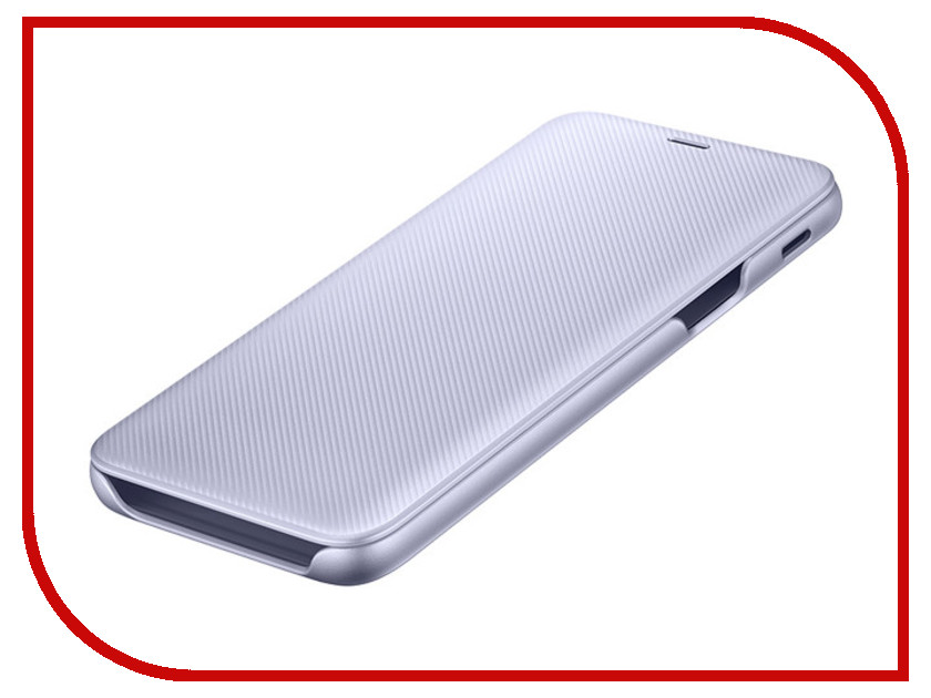 Аксессуар Чехол Samsung Galaxy J6 2018 Wallet Cover Violet SAM-EF-WJ600CVEGRU аксессуар чехол samsung galaxy j5 2017 sm j530 wallet cover ligth blue sam ef wj530clegru