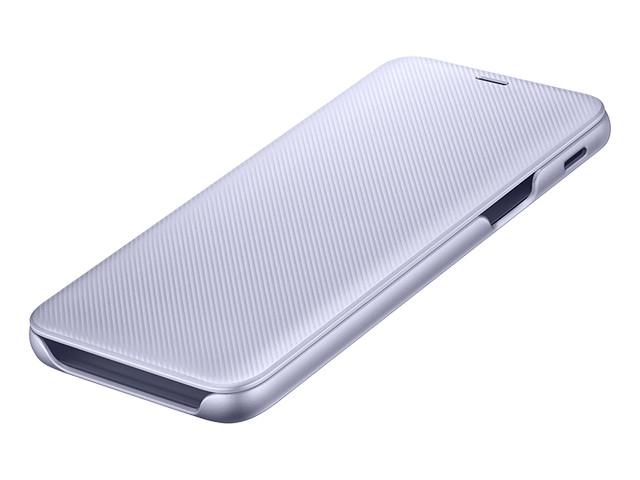 Аксессуар Чехол Samsung Galaxy J6 2018 Wallet Cover Violet SAM-EF-WJ600CVEGRU аксессуар чехол samsung galaxy note 8 led view cover gold ef nn950pfegru