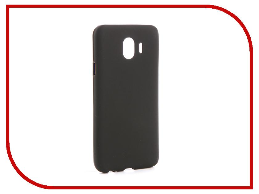 Аксессуар Чехол для Samsung Galaxy J4 2018 J400F Svekla Silicone Black SV-SGJ400F-MBL аксессуар чехол для samsung galaxy a5 2017 a520f svekla silicone black sv sga520f mbl
