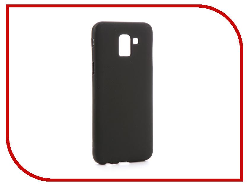 Аксессуар Чехол для Samsung Galaxy J6 2018 J600F Svekla Silicone Black SV-SGJ600F-MBL аксессуар чехол для samsung galaxy a5 2017 a520f svekla silicone black sv sga520f mbl
