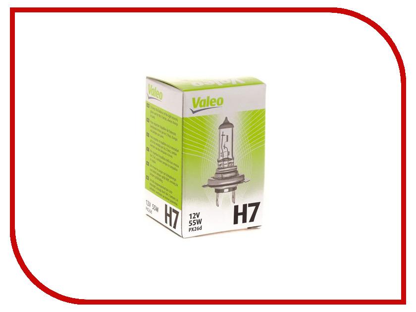 Лампа Valeo H7 12V 55W PX26d 32009 сцепление valeo c30