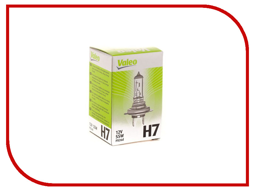 Лампа Valeo H7 12V 55W PX26d 32009