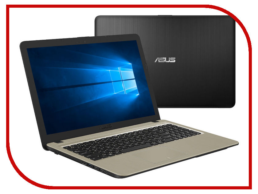 Ноутбук ASUS A540NV-DM049T Black-Golden 90NB0HM1-M00880 (Intel Pentium N4200 1.1 GHz/4096Mb/500Gb/nVidia GeForce 920MX 2048Mb/Wi-Fi/Bluetooth/Cam/15.6/1920x1080/Windows 10 64-bit) ноутбук asus x751nv ty001t 90nb0eb1 m00330 intel pentium n4200 1 1 ghz 4096mb 1024gb nvidia geforce gt 920mx 2gb wi fi bluetooth cam 17 3 1600 х 900 windows 10