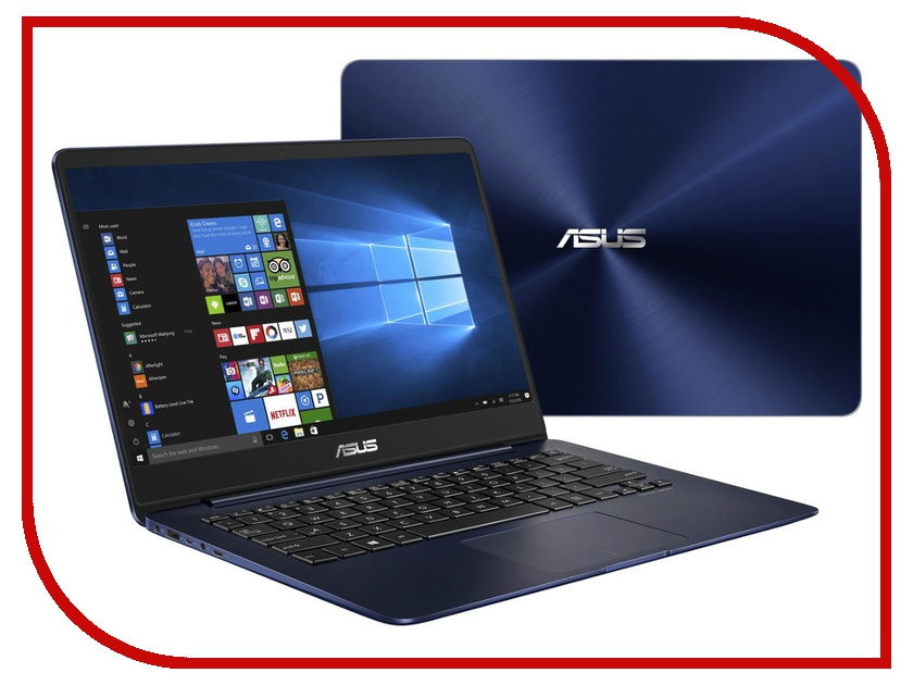 Ноутбук ASUS Zenbook UX430UA-GV452R Blue 90NB0EC5-M12150 (Intel Core i7-8550U 1.8 GHz/8192Mb/256Gb SSD/No ODD/Intel HD Graphics/Wi-Fi/Bluetooth/Cam/14.0/1920x1080/Windows 10 64-bit) ноутбук hp spectre x360 13 ae009ur 2vz69ea intel core i7 8550u 1 8 ghz 8192mb 256gb ssd no odd intel hd graphics wi fi bluetooth cam 13 3 1920x1080 touchscreen windows 10 64 bit