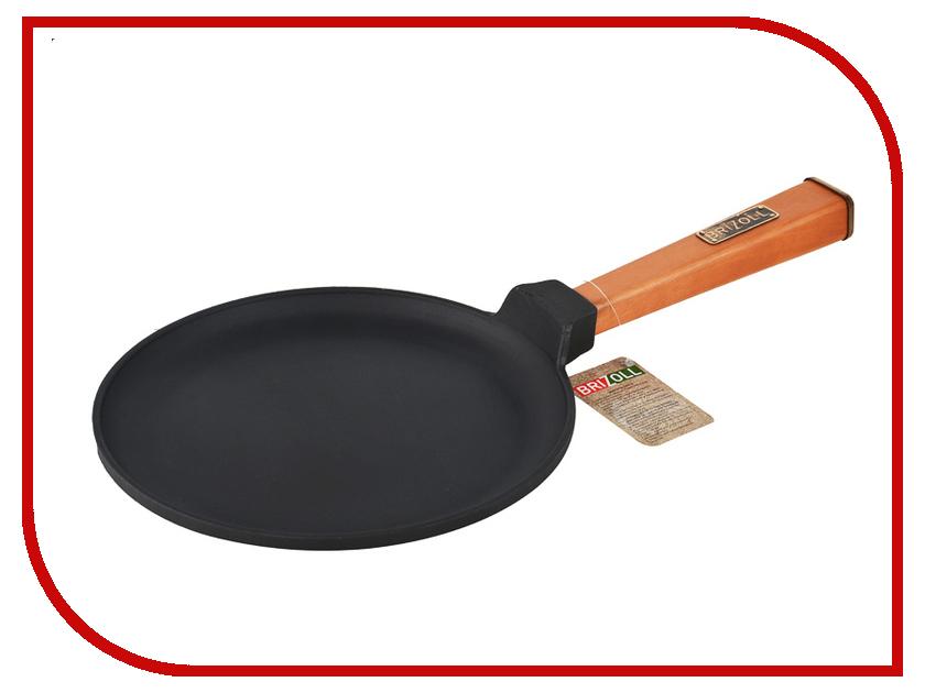Сковорода Brizoll О2215-Р 22cm