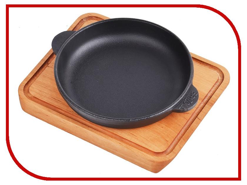 Сковорода Brizoll Н1425-Д 14cm сковорода brizoll н181825 д 18x18cm