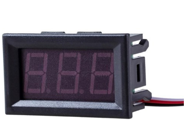 Вольтметр ACV RM37-VTR12R Red