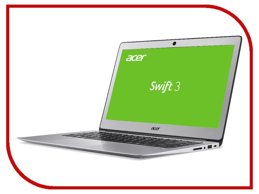 Ноутбук Acer Swift 3 SF314-52-57BV NX.GNUER.009 Silver (Intel Core i5-7200U 2.5 GHz/8192Mb/256Gb SSD/No ODD/Intel HD Graphics/Wi-Fi/Bluetooth/Cam/14.0/1920x1080/Linux) моноблок lenovo ideacentre aio 520 22iku ms silver f0d5000srk intel core i5 7200u 2 5 ghz 4096mb 1000gb dvd rw intel hd graphics wi fi bluetooth cam 21 5 1920x1080 dos
