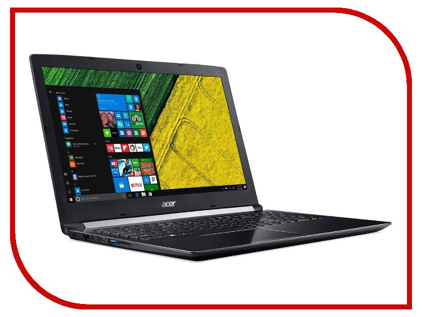 Ноутбук Acer Aspire A515-51G-5826 NX.GPEER.001 Black (Intel Core i5-7200U 2.5 GHz/4096Mb/500Gb/nVidia GeForce MX150 2048Mb/Wi-Fi/Bluetooth/Cam/15.6/1366x768/Windows 10 64-bit) mb rfl01 001 laptop motherboard for acer aspire 4743g mbrfl01001 je43 cp mb 48 4ni01 01m hm55 nvidia geforce ddr3 mainboard