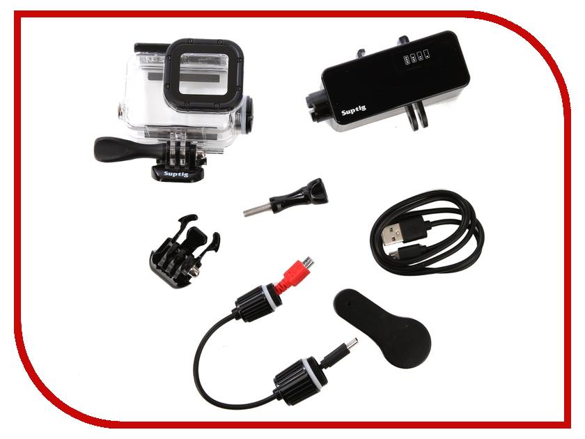 Аксессуар RedLine RL523 Бокс для GoPro Hero 5/6 + Powerbank 5200mAh аксессуар крепление redline rl369 для пульта gopro