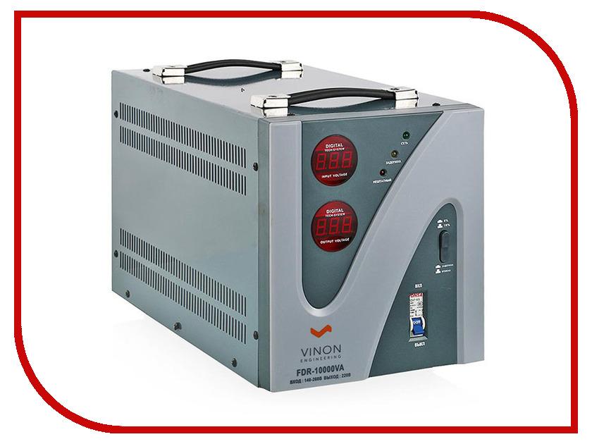 Стабилизатор Vinon FDR-10000VA аккумулятор digicare plc e8 lp e8 для canon