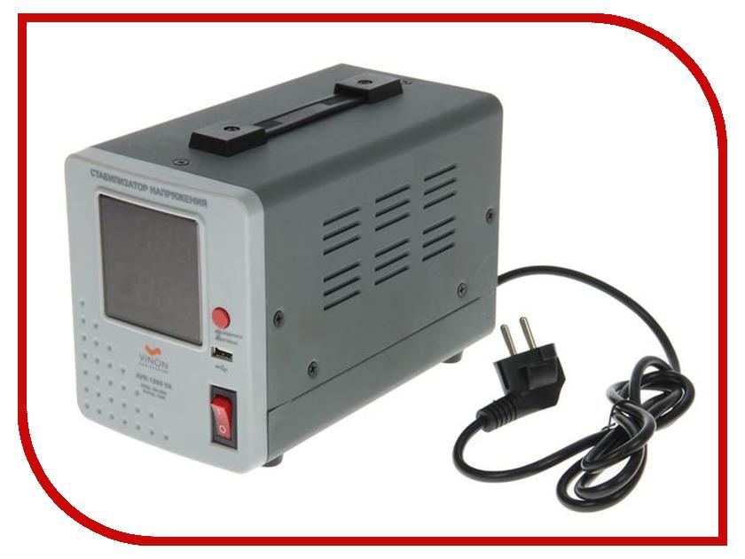 Стабилизатор Vinon AVR-1000VA стабилизатор sven avr slim 1000 lcd sv 012816