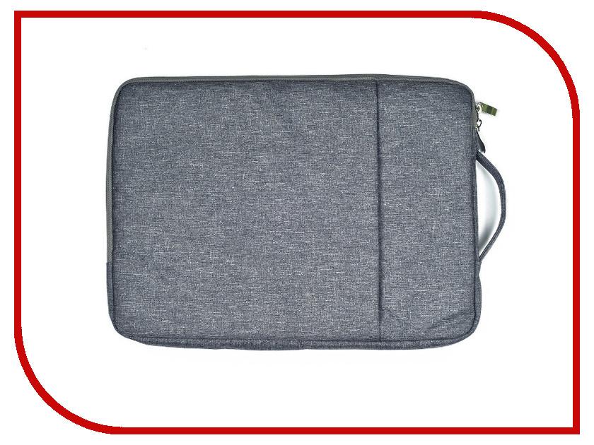 Аксессуар Чехол-сумка 13-inch Gurdini для APPLE MacBook на молнии 13 Grey 902328