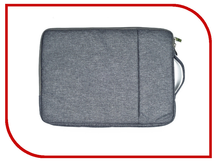 Аксессуар Чехол-сумка 15-inch Gurdini для APPLE MacBook на молнии 15 Grey 904549 аксессуар чехол 7 inch река времени classic универсальный grey vrv ccl07p gr