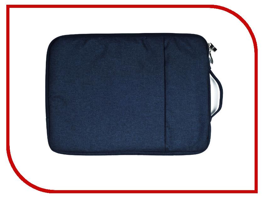 Аксессуар Чехол-сумка 15-inch Gurdini для APPLE MacBook на молнии 15 Blue 904550 2017 new handbag for laptop 11 13 15 15 6 inch for macbook notobook bag 13 3 15 4 sleeve case wholesales free drop shipping
