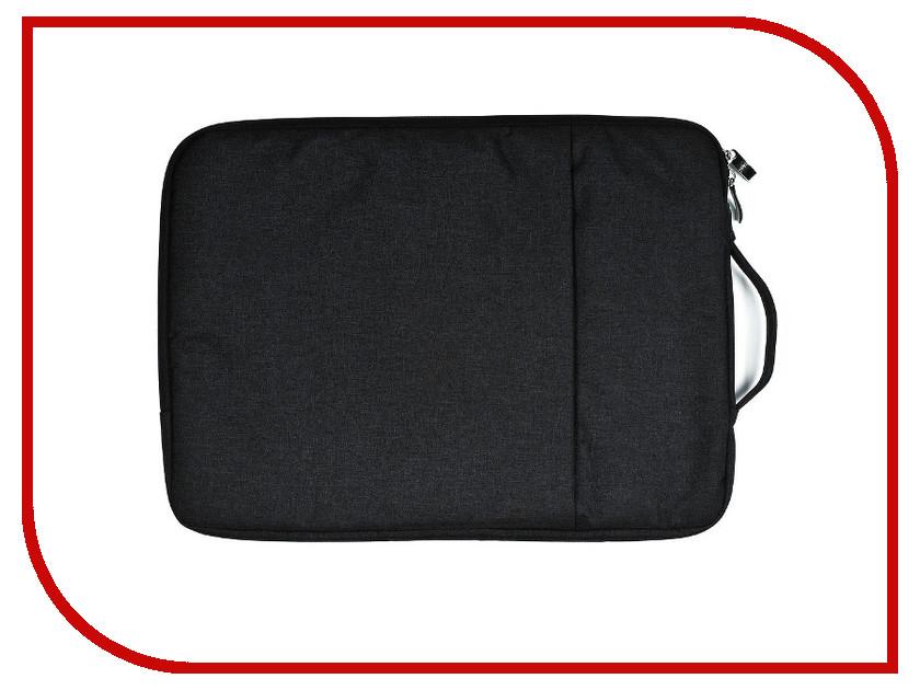 Аксессуар Чехол-сумка 15-inch Gurdini для APPLE MacBook на молнии 15 Black 902329 аксессуар сумка 15 6 inch deluxe dlnb 604b n15 6 black