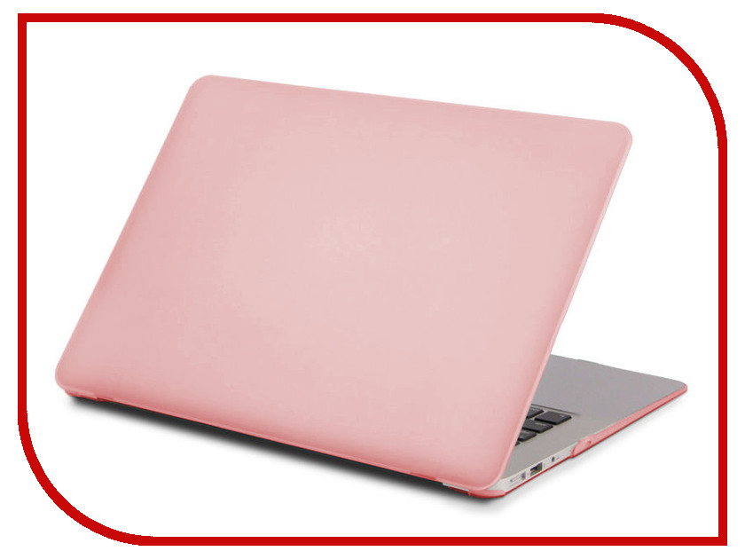 Аксессуар Чехол 13-inch Gurdini для APPLE MacBook Air 13 Plastic Matt OEM Rose Gold 900136