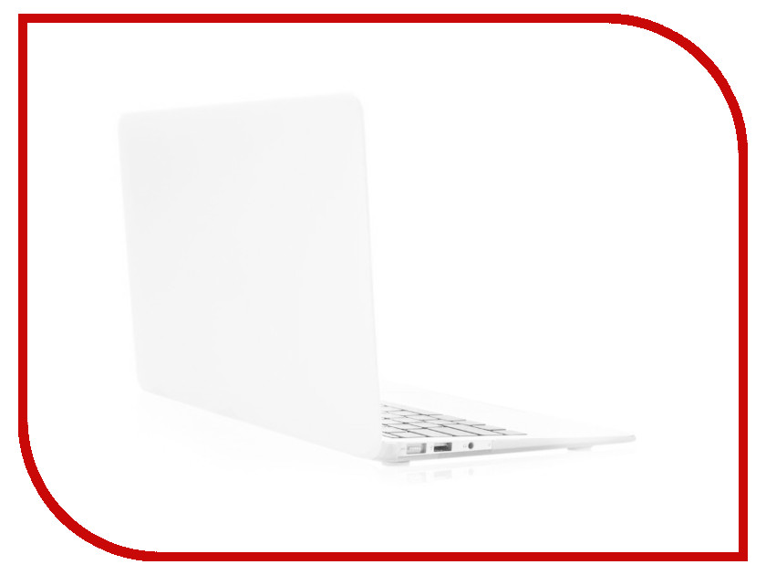 Аксессуар Чехол 13-inch Gurdini для APPLE MacBook Air 13 Plastic Matt OEM White 220017