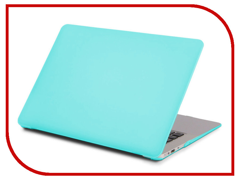 Аксессуар Чехол 13-inch Gurdini для APPLE MacBook Air 13 Plastic Matt OEM Turquoise 902613