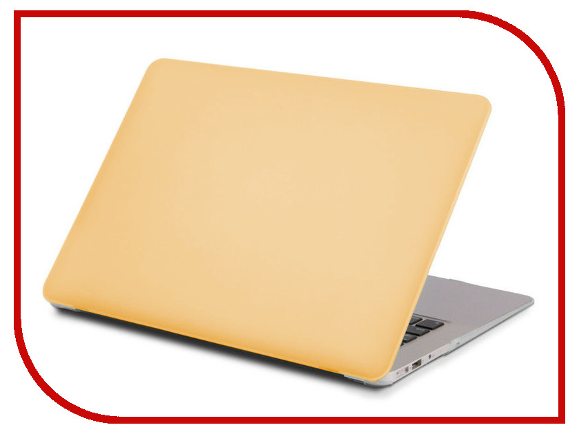 Аксессуар Чехол 13-inch Gurdini для APPLE MacBook Air 13 Plastic Matt OEM Gold 220177