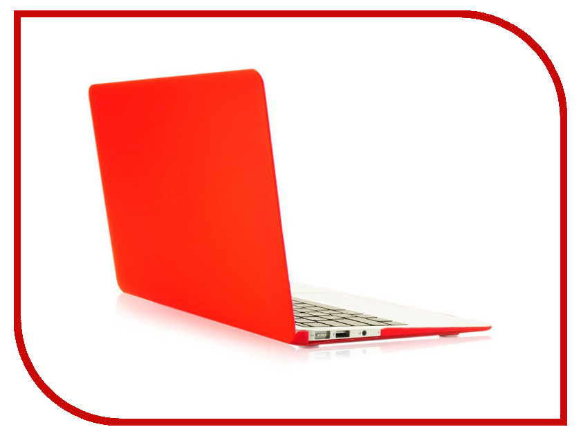 Аксессуар Чехол 13-inch Gurdini для APPLE MacBook Air 13 Plastic Matt OEM Red 220020