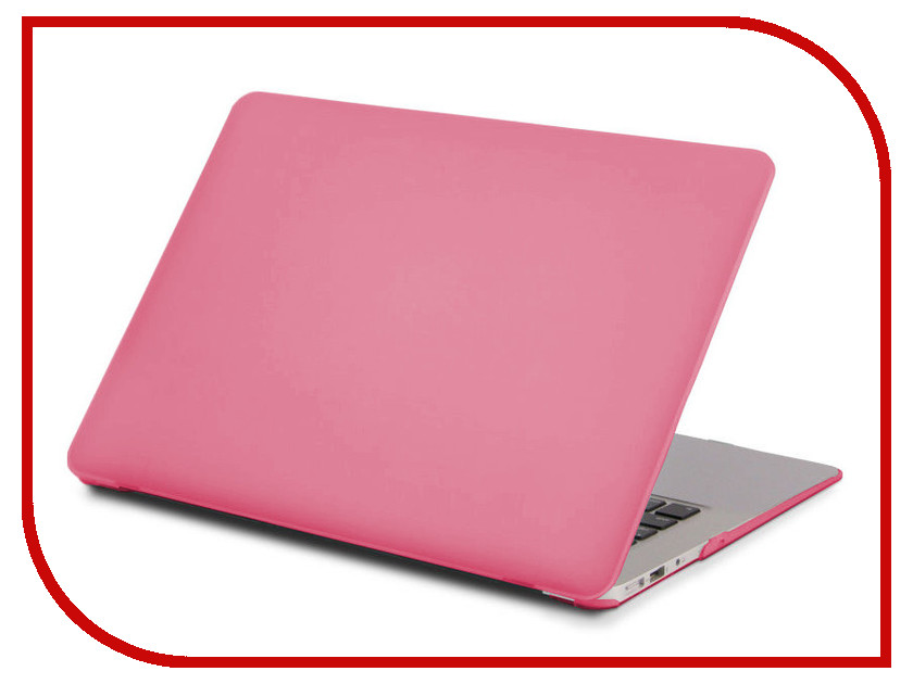 Аксессуар Чехол 13-inch Gurdini для APPLE MacBook Air 13 Plastic Matt OEM Crimson 900133