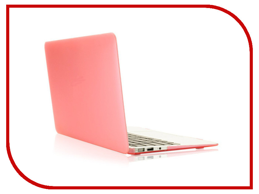 Аксессуар Чехол 13-inch Gurdini для APPLE MacBook Air 13 Plastic Matt OEM Pink 220012