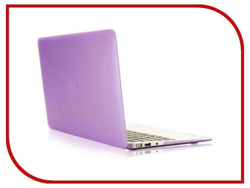 Аксессуар Чехол 13-inch Gurdini для APPLE MacBook Air 13 Plastic Matt OEM Purple