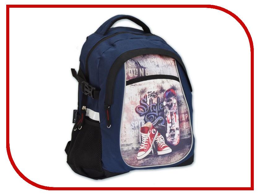 Рюкзак Феникс+ Скейтборд Blue 46207 скейтборд 8 колес