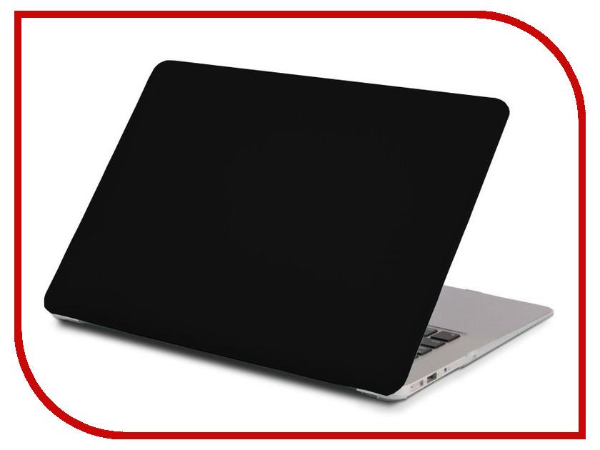 Аксессуар Чехол 13-inch Gurdini для APPLE MacBook Air 13 Plastic Leather Black 220229 аксессуар чехол macbook pro 13 speck seethru pink spk a2729
