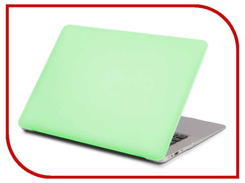Аксессуар Чехол 13-inch Gurdini для APPLE MacBook Pro Retina 13 2016 With TouchBar Plastic Acid Green 902454