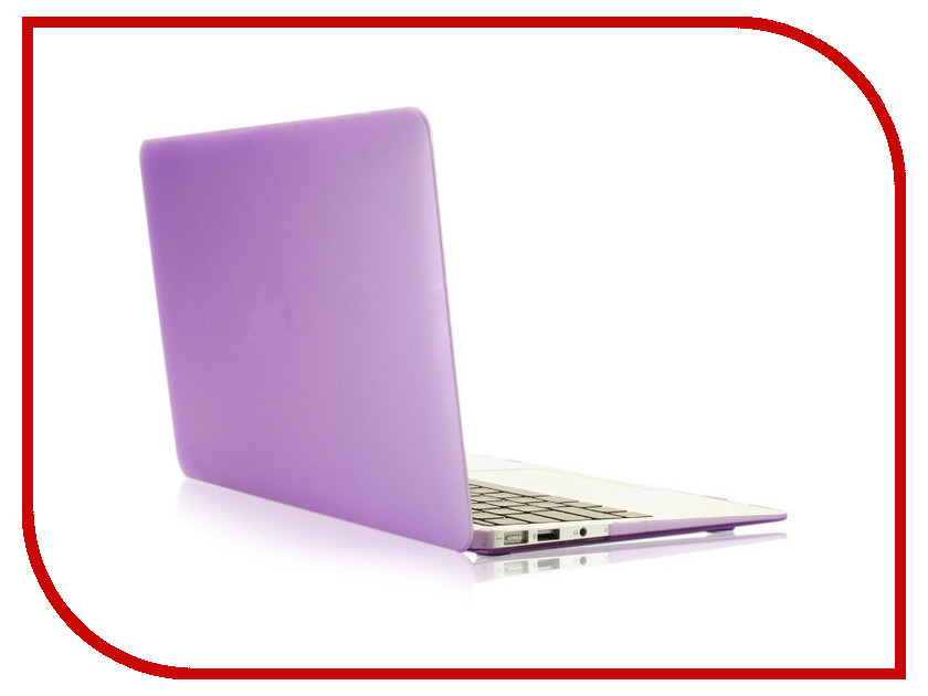 Аксессуар Чехол 13-inch Gurdini для APPLE MacBook Pro Retina 13 2016 With TouchBar Plastic Purple 902457