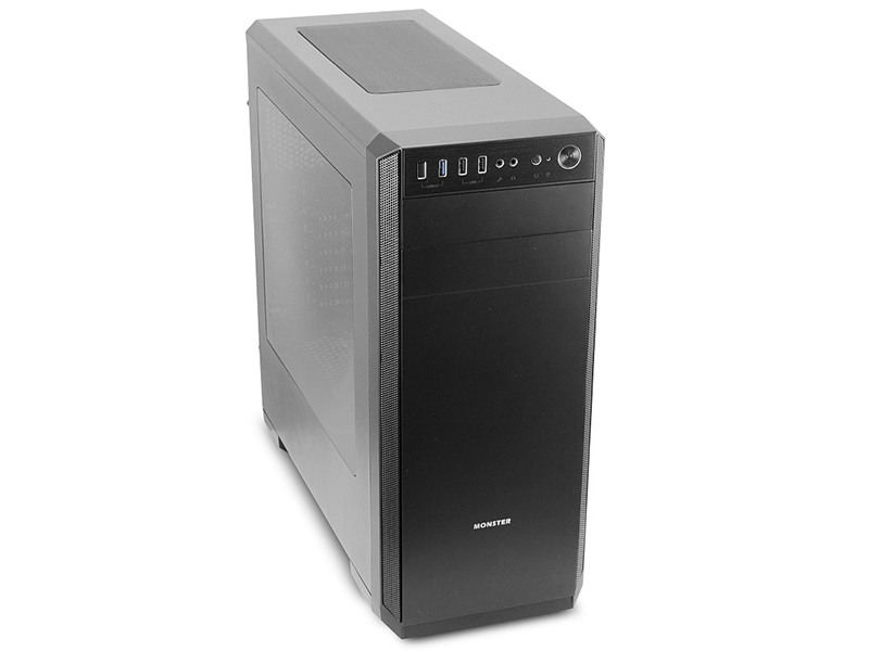 Корпус 3Cott Monster II ATX без БП