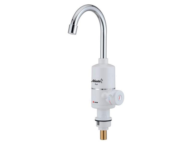 Кран мгновенного нагрева воды Atlanta ATH-7420 White