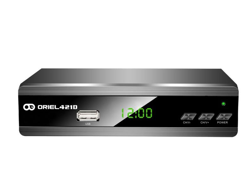 Oriel 421 D (DVB-T2/C) oriel 302 dvb t2