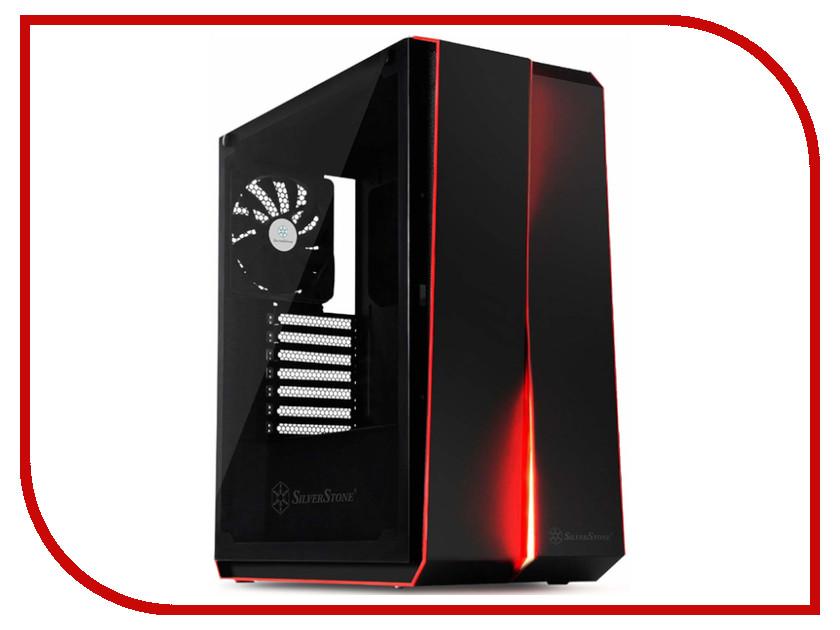 Корпус SilverStone Case Ss RedLine Black SST-RL07B-G корпус silverstone case ss precision ps11b q black sst ps11b q
