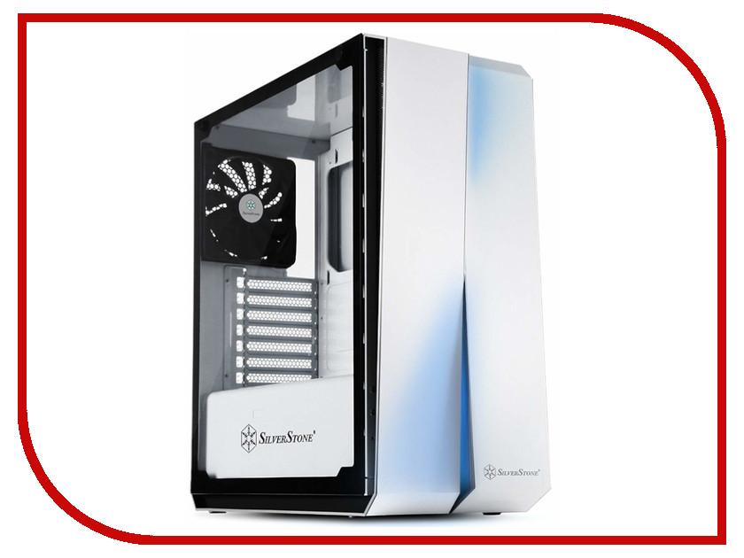 Корпус SilverStone Case Ss RedLine White SST-RL07W-G корпус silverstone case ss precision ps11b q black sst ps11b q